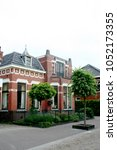 netherlands groningen usquert ... | Shutterstock . vector #1052173355
