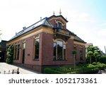 netherlands groningen usquert ... | Shutterstock . vector #1052173361