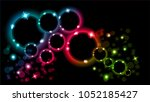 Abstract Multicolored Luminous...