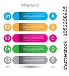 modern design template  can be... | Shutterstock .eps vector #1052208635