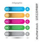 modern design template  can be... | Shutterstock .eps vector #1052209889