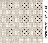 black elegant dotted lace... | Shutterstock .eps vector #105223181