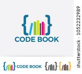 code with colorful book logo...