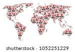 global geography atlas...   Shutterstock .eps vector #1052251229