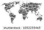 international atlas composition ...   Shutterstock .eps vector #1052255465