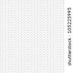 white knitted pattern | Shutterstock .eps vector #105225995