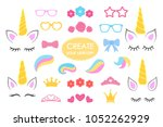 create your own unicorn   big... | Shutterstock .eps vector #1052262929