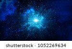 big bang in space  the birth of ... | Shutterstock . vector #1052269634