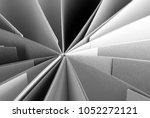 closeup of grey paper texture   Shutterstock . vector #1052272121