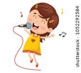 vector illustration of kids... | Shutterstock .eps vector #1052292584