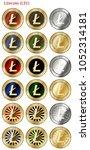 18 in 1 set of litecoin  ltc  ...