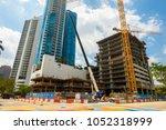 fort lauderdale  florida  ... | Shutterstock . vector #1052318999