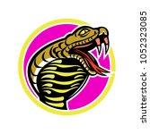 mascot icon illustration of... | Shutterstock .eps vector #1052323085