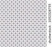circles vector seamless pattern.... | Shutterstock .eps vector #1052328755