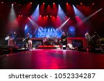 Small photo of Saginaw, MI / USA - March 20, 2018: Styx performs live at the Dow Event Center.