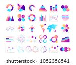 financial and marketing... | Shutterstock .eps vector #1052356541