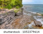 Cave Point is part of Whitefish Dunes State Park on the Wisonconsin penuisula