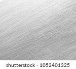 silver metal texture  background | Shutterstock . vector #1052401325