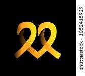 charity logo design for non... | Shutterstock .eps vector #1052415929