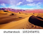 Sand Dunes At Mesquite Flats I...