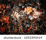 abstract retro grunge... | Shutterstock . vector #1052493419