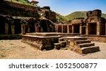 takht i bhai parthian... | Shutterstock . vector #1052500877