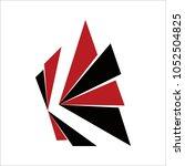 letter k logo icon design... | Shutterstock .eps vector #1052504825