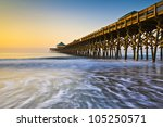 Folly Beach Pier Charleston Sc...