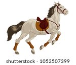 colored illustration of a... | Shutterstock .eps vector #1052507399