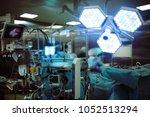 warm work of surgeons in the... | Shutterstock . vector #1052513294
