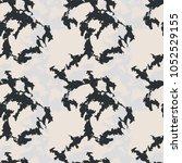 seamless fashion black  grey...   Shutterstock .eps vector #1052529155