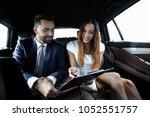 business people meeting working ... | Shutterstock . vector #1052551757