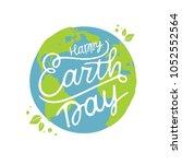 Happy Earth Day Handwritten...