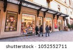 bologna  italy   circa march ... | Shutterstock . vector #1052552711
