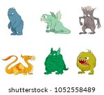 vector illustration of set of... | Shutterstock .eps vector #1052558489