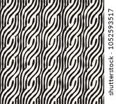 hand drawn striped seamless... | Shutterstock .eps vector #1052593517
