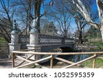 bridge of the sirenette. bridge ... | Shutterstock . vector #1052595359