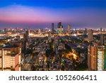 dadar skyline  mumbai  india. | Shutterstock . vector #1052606411