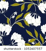 abstract elegance pattern with... | Shutterstock .eps vector #1052607557