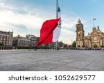 mexico  mexico city  8 february ... | Shutterstock . vector #1052629577