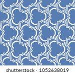 decorative seamless geometric... | Shutterstock .eps vector #1052638019