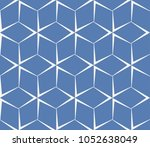 decorative seamless geometric... | Shutterstock .eps vector #1052638049