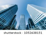 london business district | Shutterstock . vector #1052638151