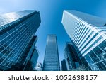 london business district | Shutterstock . vector #1052638157