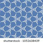 decorative seamless geometric... | Shutterstock .eps vector #1052638439