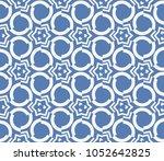 decorative seamless geometric... | Shutterstock .eps vector #1052642825