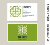 logo design with template... | Shutterstock .eps vector #1052642891