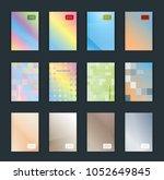 vector illustration of bright... | Shutterstock .eps vector #1052649845
