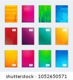 vector illustration of bright... | Shutterstock .eps vector #1052650571