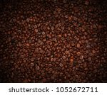 coffee beans  used as ... | Shutterstock . vector #1052672711